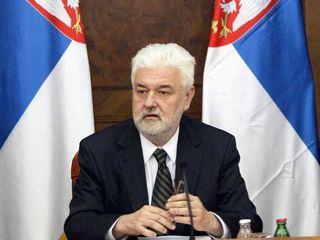 Il premier serbo, Mirko Cvetkovic