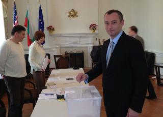 Il ministro degli Esteri bulgaro Nikolaj Mladenov