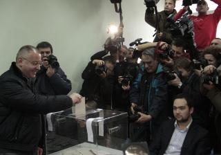 Il leader del Partito socialista bulgaro Sergej Stanishev