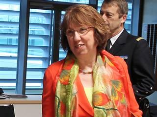L'Alto rappresentante per la politica estera e di sicurezza dell'Ue, Catherine Ashton