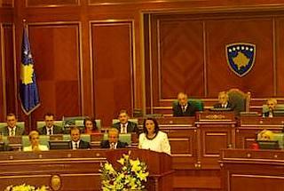 L'Assemblea parlamentare del Kosovo