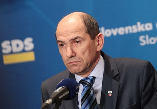 Il leader del Partito democratico Janez Jansa