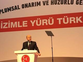 Il leader del Movimento nazionalista, Devlet Bahceli