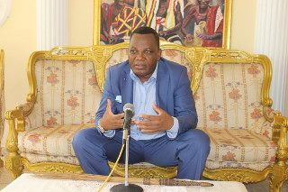 Il ministro degli Esteri della Repubblica del Congo Jean-Claude Gakosso