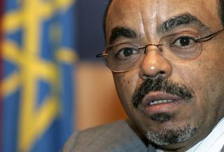 Il premier etiope, Meles Zenawi