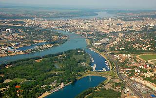 Belgrado, panorama