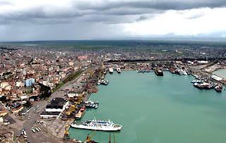 Durazzo, il porto