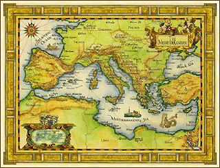 Mare Mediterraneo Cartina.Forum Del Mediterraneo Agenzia Nova