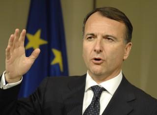 Il ministro degli Esteri Franco Frattini