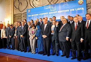 I partecipanti alla conferenza