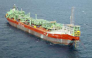 Nave per lo sfruttamento del giacimento petrolifero di Chinguetti