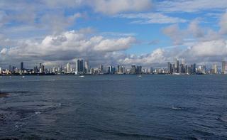 Panorama di Città di Panama