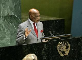 Il presidente senegalese, Abdoullaye Wade