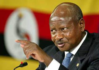 Il presidente ugandese, Yoweri Museveni
