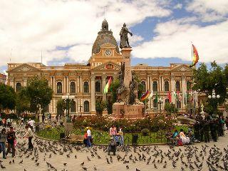 Il Palazzo di Miraflores (sede del governo venezuelano)
