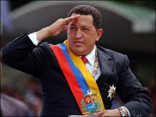 Il presidente venezuelano, Hugo Chavez