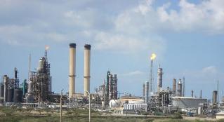 Lo stabilimento petrolchimico di José, nello stato di Anzoategui
