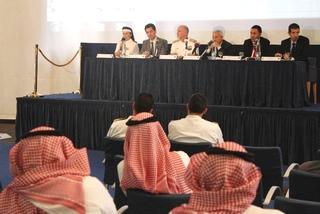 Conferenza stampa alla presenza dell'ambasciatore italiano in Arabia Saudita, Mario Boffo