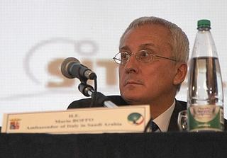 L'ambasciatore italiano in Arabia Saudita, Mario Boffo