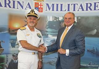 L'ambasciatore italiano in Sudafrica, Vincenzo Schioppa