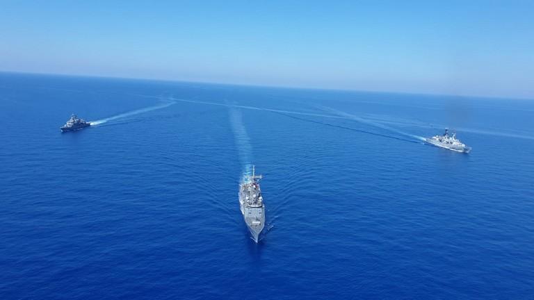 Alta tensione nel Mediterraneo orientale: due esercitazioni militari in corso contemporaneamente