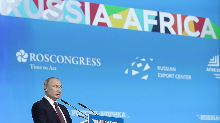Russia-Africa: Putin, Mosca continuerà a lavorare per stabilità e ...